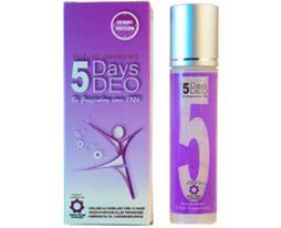 5 days deo til kvinder