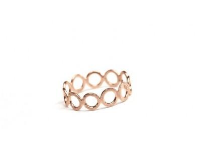 Fin ring fra Pernille Corydon i rosaguld